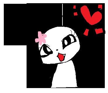 チャイニーズなキュートさ♪元気いっぱいの「乙女パンダ」は毎日の女子トークにオススメのスタンプ☆