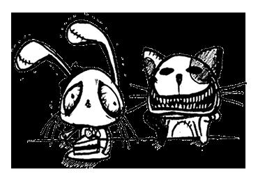 独特な世界感に引き込まれる♪相性バッチリの仲良しコンビ「ルーとミピ」スタンプ☆