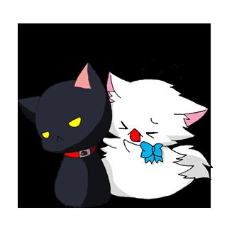 言いづらい返事の要求はコレにお任せ!キュートな子猫の「返事待ち」スタンプ☆
